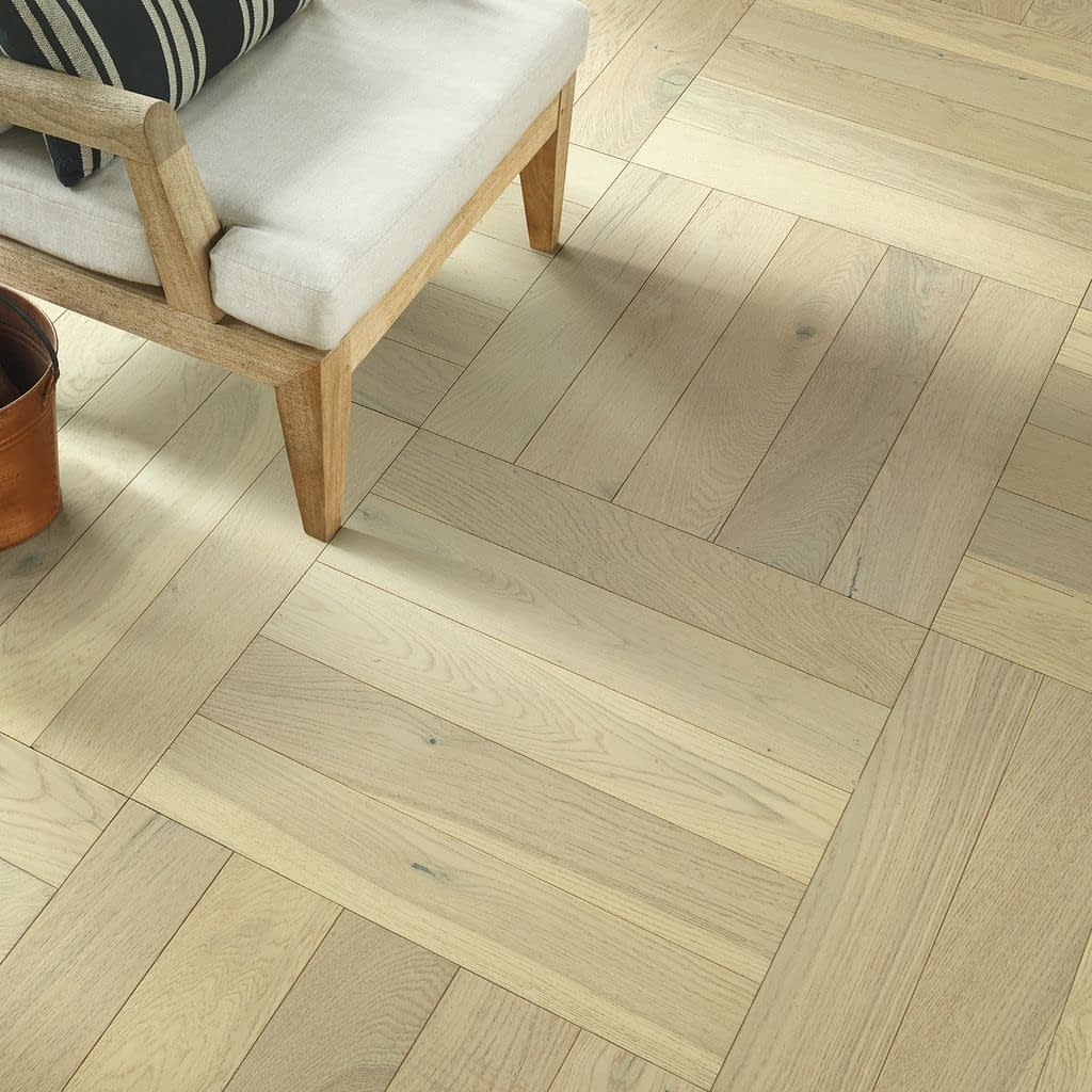 empire oak herringbone carnagie